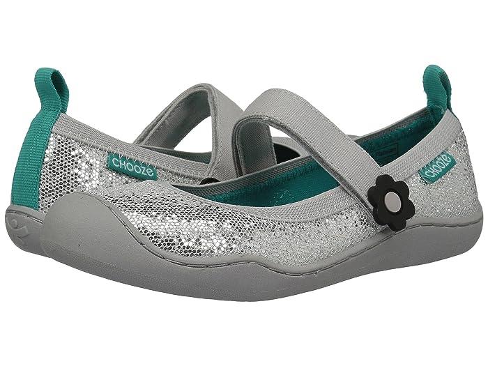 CHOOZE  Steady Glow (Toddler/Little Kid) (Glow Platinum) Girls Shoes