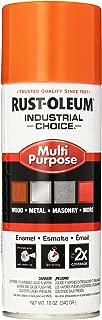 Rust-Oleum 1653830 1600 System Multi-Purpose Enamel Spray Paint, 12-Ounce, Safety Orange