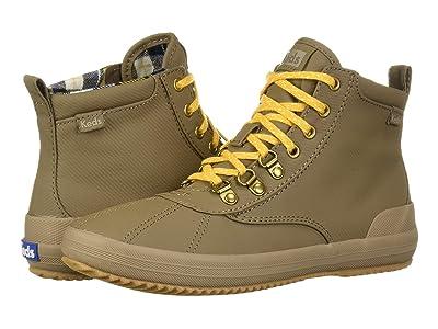 Keds Scout Boot II Matte Twill WX (Walnut) Women