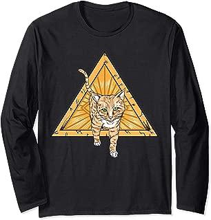 Illuminati Eye of Cheeto The Cat Long Sleeve T-Shirt