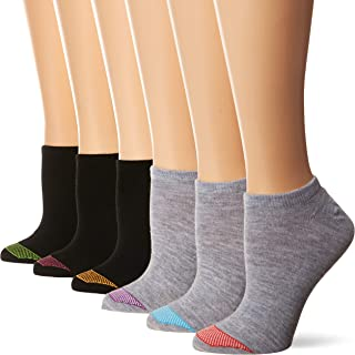 womens Ultimate Lightweight Vent No Show Sock 6-pack