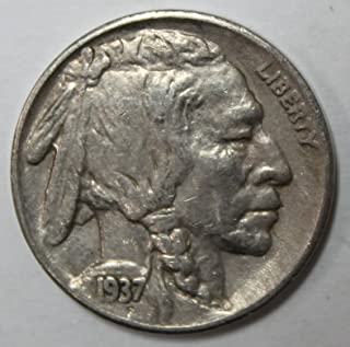 1937 S Buffalo Nickel 5c Extremely Fine-About Uncirculated