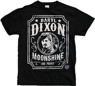 Walking Dead The Daryl Dixon Moonshine Adult Men's Black T-Shirt