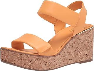 Franco Sarto Women's Sweety Sandal, Cantaloupe, 6