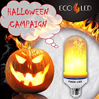 Flame Light Bulbs 4 Modes - E26 / E27 LED Flickering Flame Bulb with Upside Down Feature/Change Direction Decoration 1