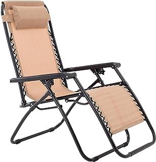 Oversized Zero Gravity Chair - Beige