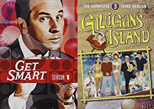 Island TV Moments Agent 99 Get Smart Spy Spoof + Gilligan's Island seven castaways 2 Pack Collection TV's Comedy Classics