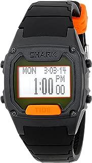 Men's 103324 Shark Classic Tide Digital Display Japanese Quartz Black Watch