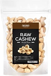 Sponsored Ad - Raw Whole Cashews, 3 lbs, 100% Natural, No Chemicals, Non-GMO, Keto and Paleo Diet Friendly