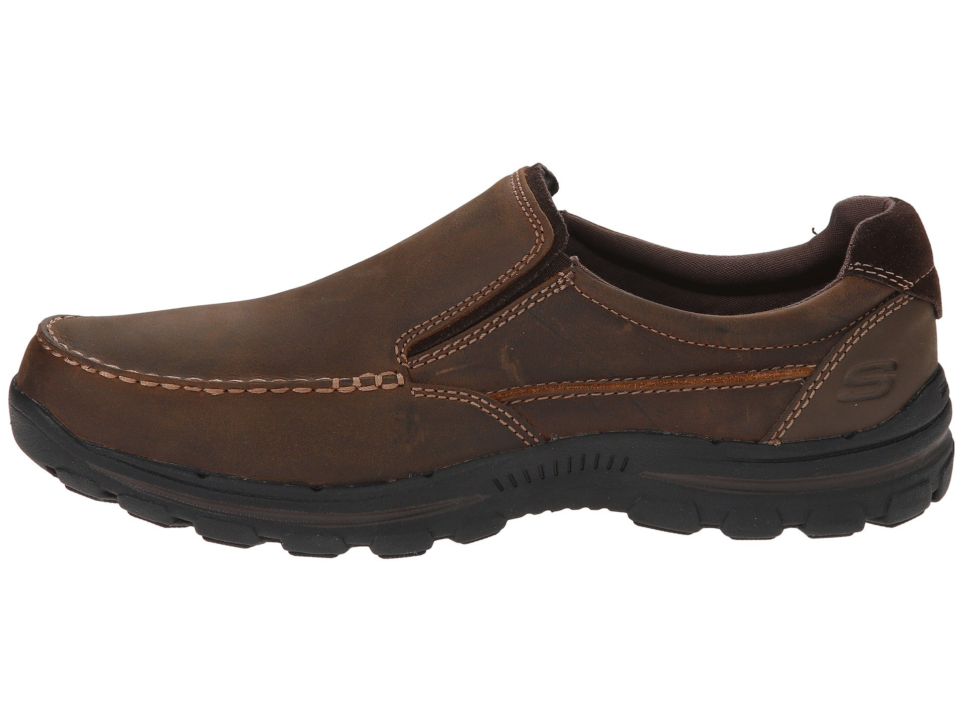 Skechers Rayland Fit Brown Relaxed Braver Dark 06fHq6wg4x