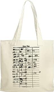 Library Checkout Dates Reusable Shopping Canvas Tote Bag