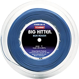 Tourna Big Hitter Blue Rough Maximum Spin Polyester Tennis String