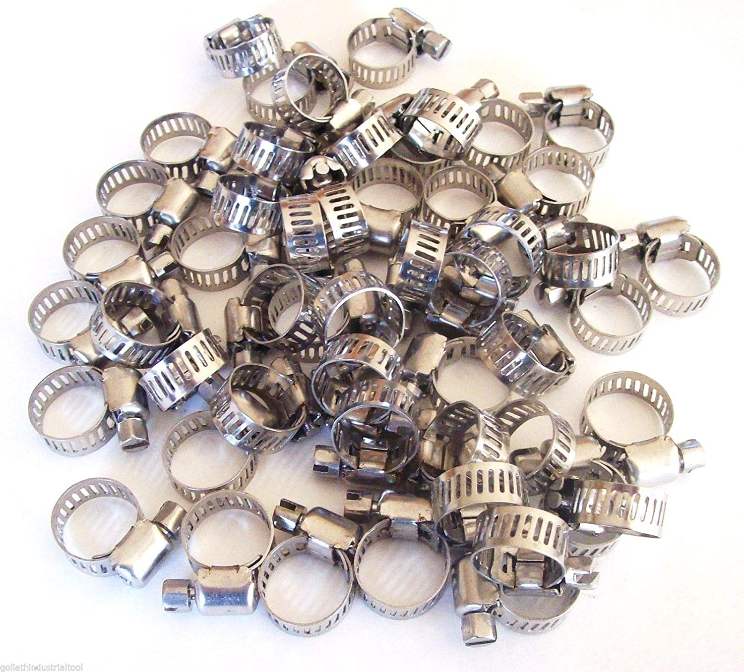 50 Super popular specialty store Brand New Finally popular brand Stainless Steel Worm Diameter Drive Clamps Hose Ran