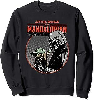 Star Wars The Mandalorian Mando and the Child Retro Sweatshirt
