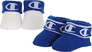 Champion Girls 2-Pack Baby Booties in Gift Box