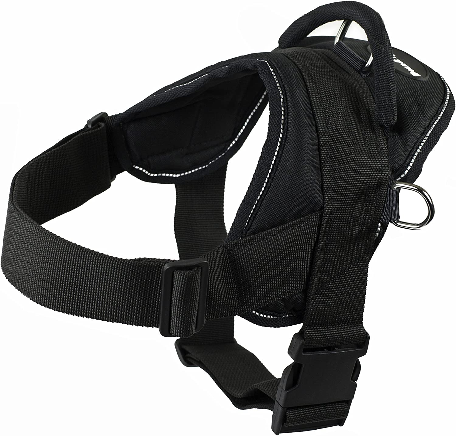 Dean and Oklahoma City Mall Tyler DT Dog Black Harness with Max 83% OFF Trim Reflective