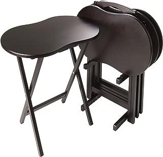 Winsome Skippy Snack Table, Dark Espresso
