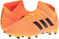 adidas Kids Nemeziz 18.3 FG Soccer (Little Kid/Big Kid)