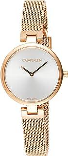 Calvin Klein Women's Quartz Watch, Analog Display and Stainless Steel Strap K8G23626