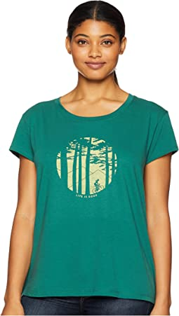 Mountain Bike Woods Breezy T-Shirt