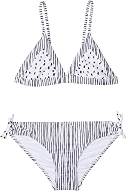 Seafolly Kids Pineapple Daze Trikini Set (Little Kids/Big Kids)