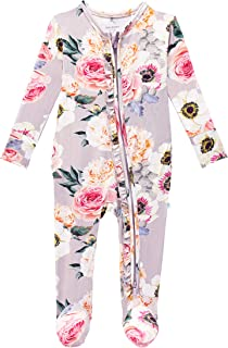 Sponsored Ad - Posh Peanut Baby Rompers Pajamas - Newborn Sleepers Girl Clothes - Kids One Piece PJ - Soft Viscose from Ba...