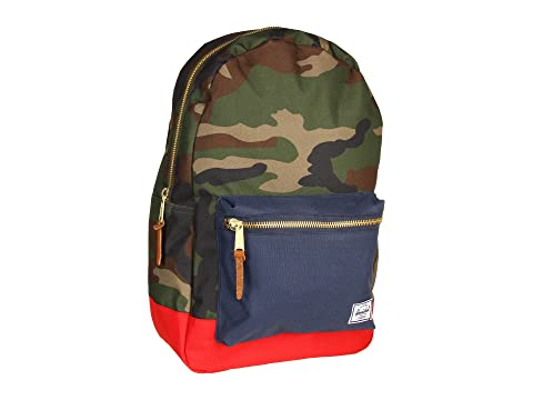 Herschel Co Supply Woodland Camo Settlement Red Navy xaZPSAwqna