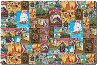 Rainbow Rules Indoor Neoprene Doormat - Frontierland Disney Inspired