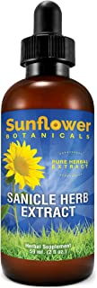 Sponsored Ad - Sunflower Botanicals Sanicle Herb Extract, 2 oz. Glass Dropper-Top Bottle, Vegan, Non-GMO and All-Natural, ...