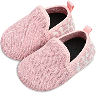 Sponsored Ad - L-RUN Toddler Boys Girls House Slippers Indoor Home Shoes Warm Socks for Kids