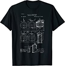 Craft Beer Brewing T-Shirt Classic Vintage Patent Print 1893