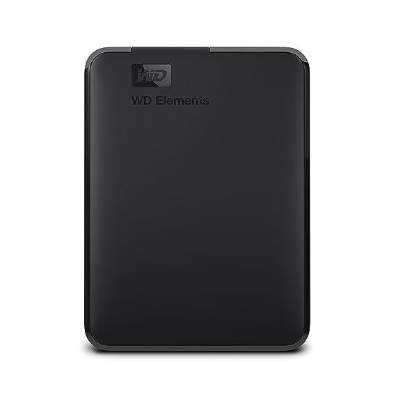 Western Digital Elements USB 2TB 3.0 high-Capacity Portable Hard Drive for Windows.