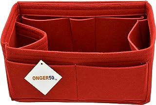 Felt Purse Handbag Tote Organizer Insert - Multi Pocket Storage Liner & Shaper