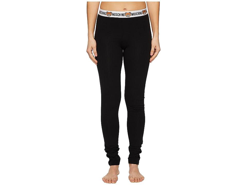 Moschino Underbear Leggings (Black) Women
