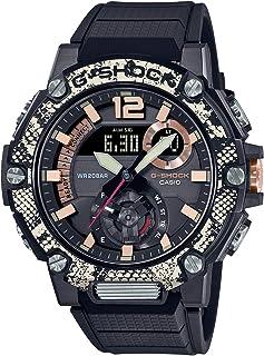 [カシオ] 腕時計 ジーショック G-STEEL Bluetooth 搭載 ソーラー カーボンコアガード構造 GST-B300WLP-1AJR メンズ ブラック