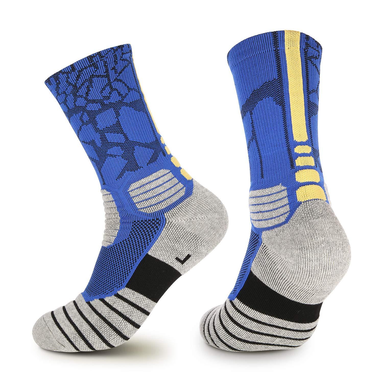 Basketball Socks, Cushioned Elite Mid-Calf Athletic Crew Socks For Boys  Girls Men & Women … : Amazon.in: Sports, Fitness & Outdoors