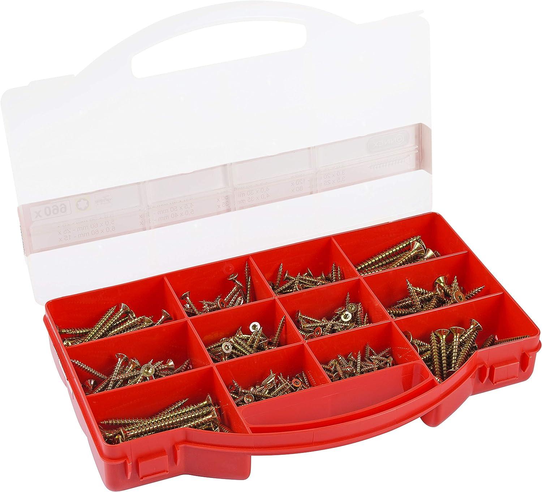 CONNEX DP8500080 Inexpensive Wood Max 50% OFF Screws kit TX