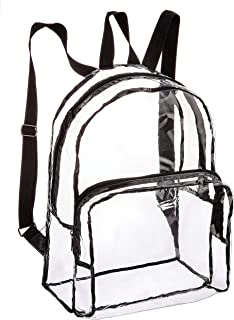 Darice Clear, Backpack, PVC, 12 x 17.5 Inches