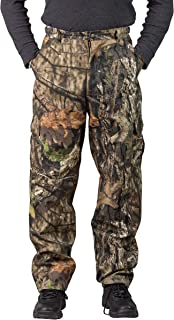 TrailCrest Men's Camo Hunting Cargo Pants | 6 Pockets |...