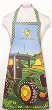 John Deere Tractor Easy Cut & Sew BBQ Apron Kit