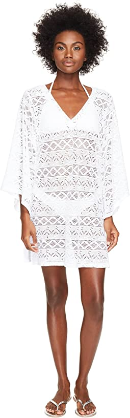 Letarte - Lace V-Neck Cover-Up