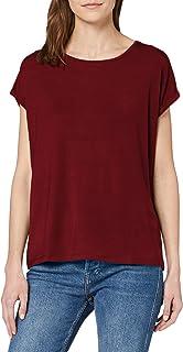 Vero Moda Vmava Plain SS Top Ga Noos T-Shirt Donna