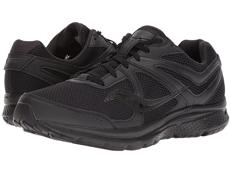 Saucony Cohesion 11 (Black/Black) Men