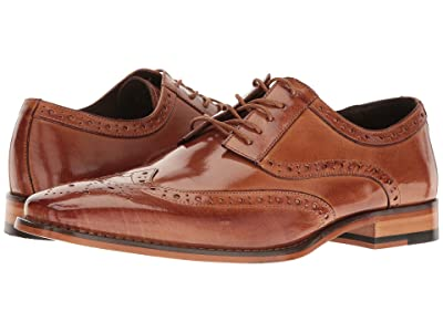 Stacy Adams Tinsley Wingtip Oxford (Tan) Men