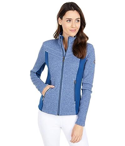 Spyder Encore Full Zip Fleece Jacket (Abyss Heather) Women
