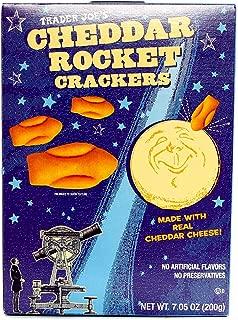 Trader Joe's Cheddar Rocket Crackers 7.05 oz