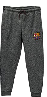 Junior Boys FC Barcelona Official Soccer Track Pant Jogger Style Casual Sport Pant