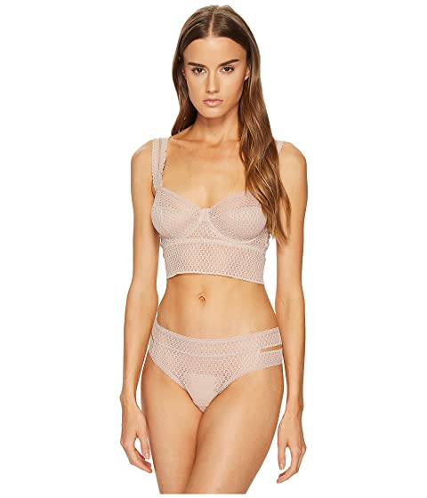 Else Pointelle Underwire Full Cup Longline Bra At 6pm