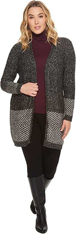 B Collection by Bobeau - Plus Size Auggie Duster Cardigan