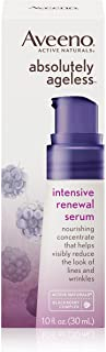 Aveeno Absolutely Ageless Intensive Renewal Serum 1 Ounce (29ml) (3 Pack)
